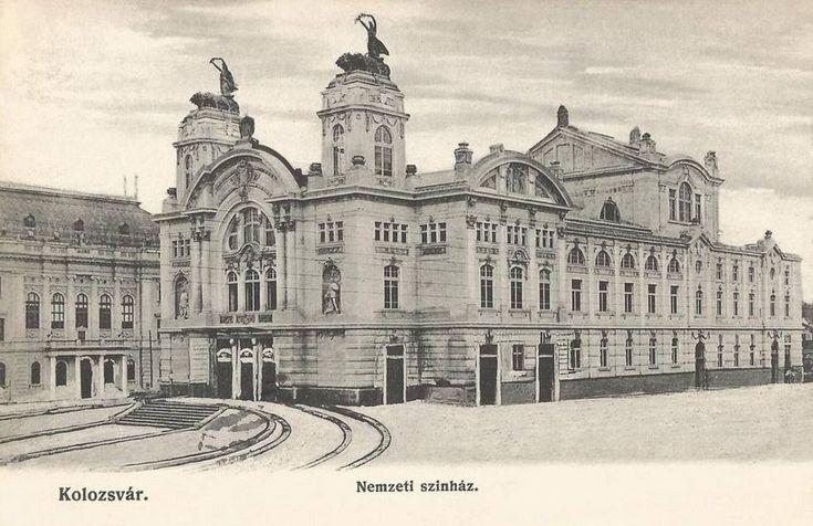 Kolozsvár: Magyar Nemzeti Szinház.1906 - Hungarian National Theatre.