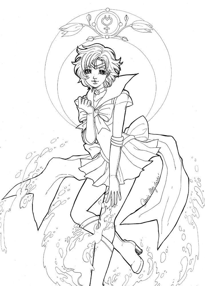 Sailor Mercury Zeichnung Von Dar Chan Zum Drucken Artherapie Ca Artherapie Drucken Mercury Sailor Sailor Moon Tattoos Seemann Mond Tapete Sailor Merkur