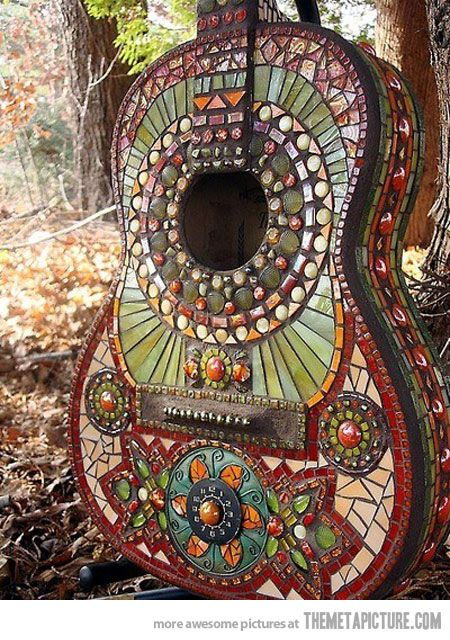 Handcrafted guitar
