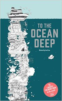 To The Ocean Deep: The Longest Coloring Book in the World: Sarah Yoon: 9781780677705: Amazon.com: Books