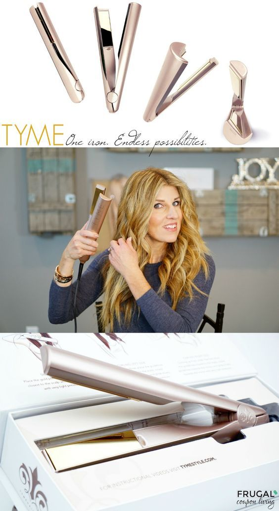 TYME Review | Save vs. Splurge  on Frugal Coupon Living. TYME hair iron.