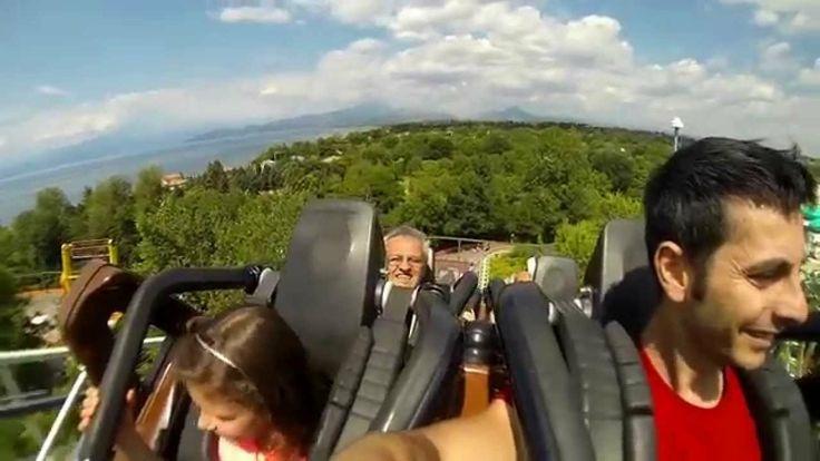 Gardaland 2014 (Raptor,blu tornado,mammuth,montagne russe) Gopro HD
