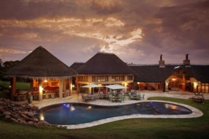 The pool and lapas- Ivory Tree Game Lodge. Quote and book http://www.south-african-hotels.com/hotels/ivory-tree-game-lodge-pilanesberg/