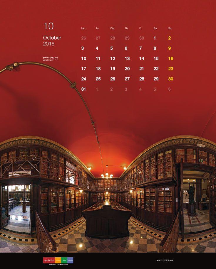 2016 Índice Calendar. Graphic design & photography by Albert Claret / Gigaphoto Project. #calendar #gigaphoto #biblioteques #2016 #catalunya #upf #barcelona #calendari