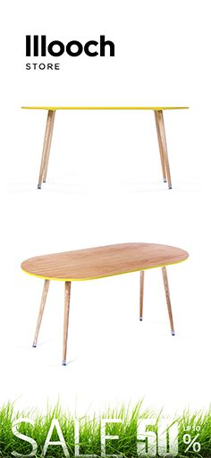 """The #table """"Soap"""" is made by an up and coming brand from Moscow WOODI.  Its rounded edges make it especially practical in smaller spaces. #coffeetable"""