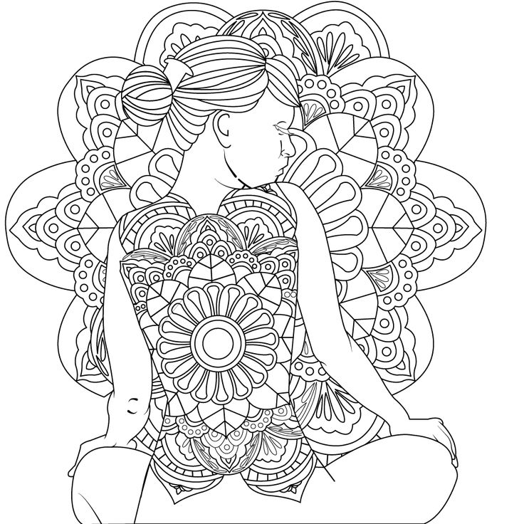 Free Women Coloring Pages | Color, Coloring book app ...