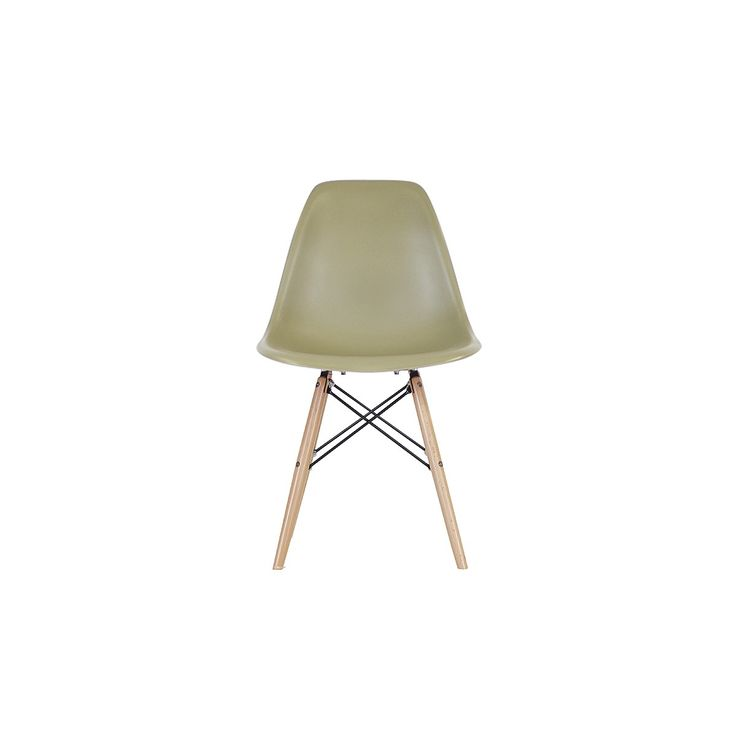 Dining chairs, nood dsw dining chair - olive