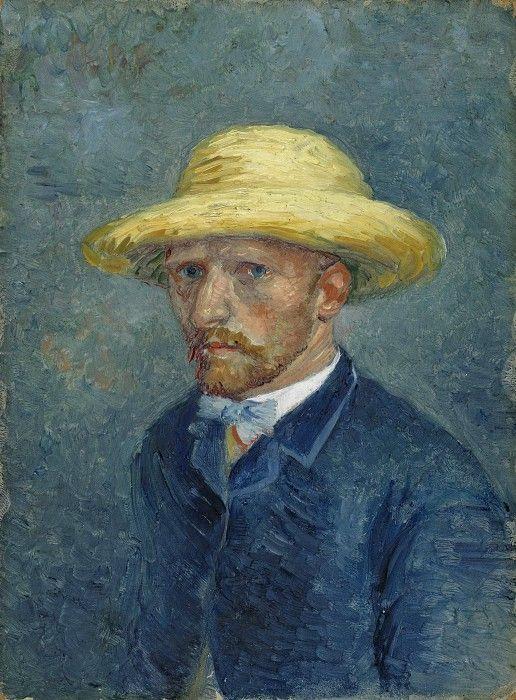 Портрет Тео Ван Гога. Винсент Ван Гог. Музей ван Гога, Амстердам (Van Gogh Museum, Amsterdam). 1887