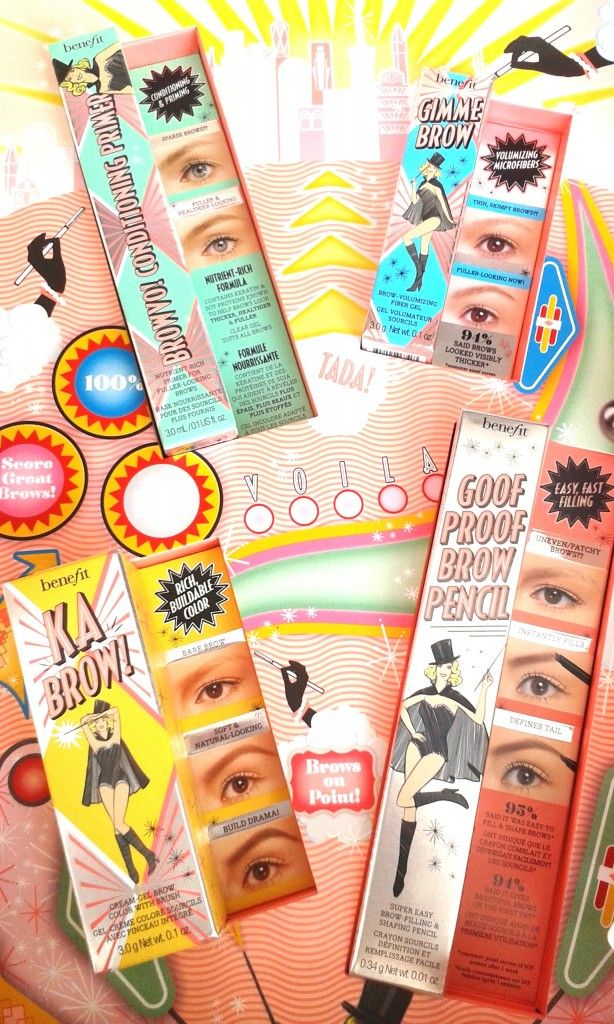 #benefit #browcollection