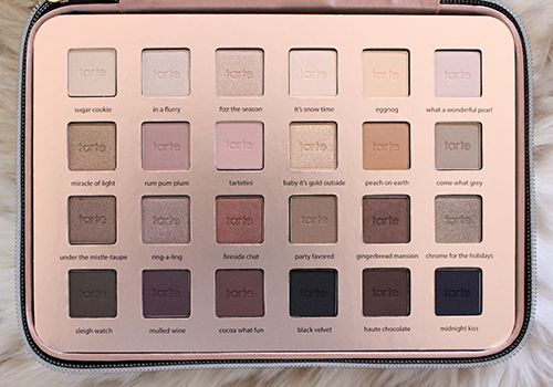 Tarte Light of the Party Holiday Palette 2015 Filled to the brim with 24 eyeshadows in varying matte and shimmer finishes, the Tarte Holiday palette is certainly one of those sets that gives you a LOT of bang for your buck! This is a neutral palette… Read More