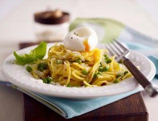 Das Rezept für Pasta mit Parmesanbutter und Erbsen und weitere kostenlose Rezepte auf LECKER.de