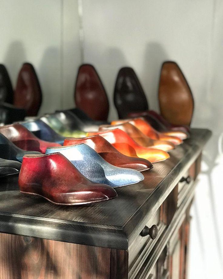 #barvy #patina #boty #svec #workshop #shoemaking #bespokeshoes #handmade #colors