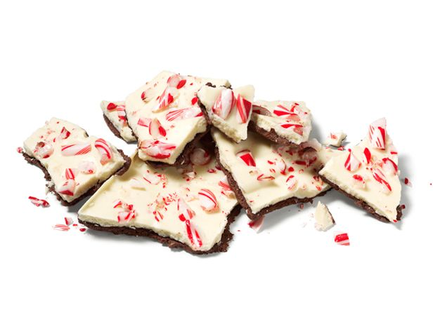 Almost-Famous Peppermint Bark recipe from Food Network Kitchen via Food Network