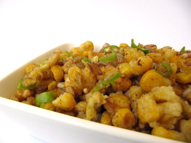Crispy Fried Corn A snack that requires a bit of patience but is so unique and exciting that you will thoroughly enjoy the results of your effort! Unlike most dishes