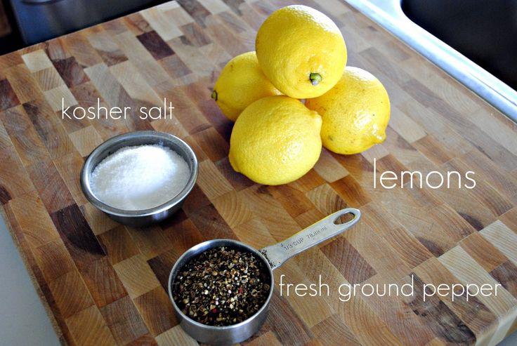 Simply Scratch » Homemade Lemon Pepper Seasoning  she said you can skip the salt that is awsome !! i love lemon pepper