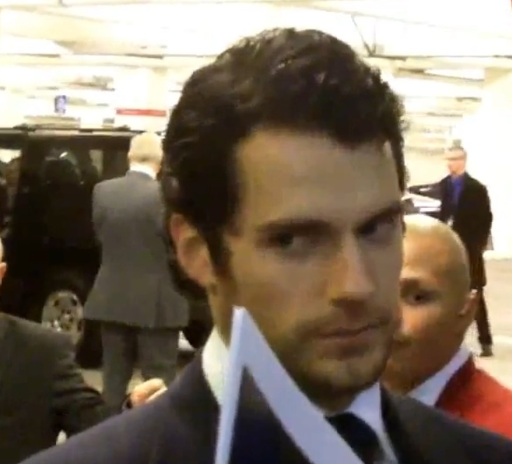 "Henry Cavill - ""the look"""