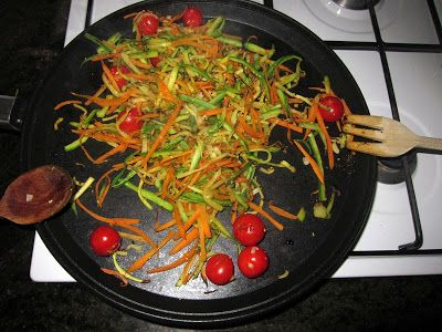 Contorno orientale e light: zucchine, carote e curry | Dolci Esperimenti: muffins, cookies & more