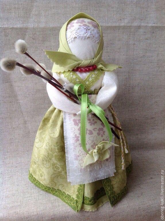 """Купить Обережная кукла """"Вербная"""" или """"Вербница"""" - обережная кукла, кукла ручной работы"""