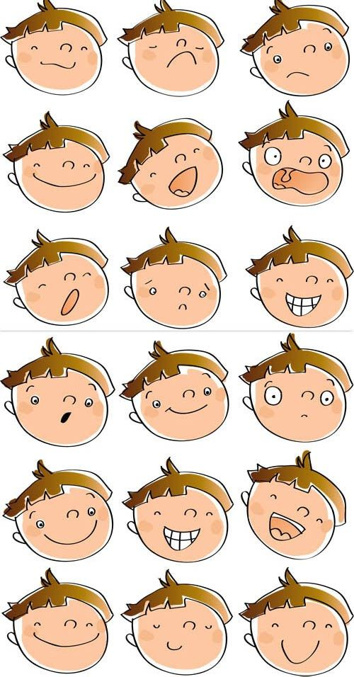 Cartoon-Emotions-Faces                                                                                                                                                                                 Mehr