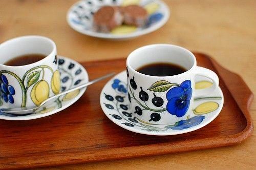 Pratiisi from Arabia. I bought this mug in Helsinki.