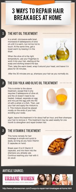 5 Infographics on How to Make Hair Grow Faster