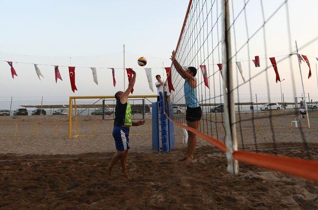 """Manavgat'ta Plaj Voleybolu heyecanı başladı """"Manavgat'ta Plaj Voleybolu heyecanı başladı""""  https://yoogbe.com/antalya/manavgatta-plaj-voleybolu-heyecani-basladi/"""