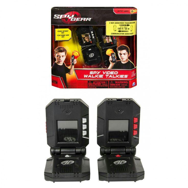 spy gear video walkie talkies instructions