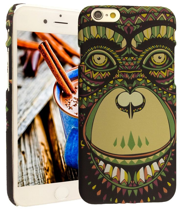 iphone 6 case, KYAL(TM) iphone 6 / 6s (4.7 in) Slim Fashion Animal Hard Plastic Durable Shell Case - Bonus Stylus Pen + Screen Protector - Style 1. This Case is compatible with iphone 6 (4.7)in ONLY; Not Compatible with iphone 5C or iphone 5/5S or iphone