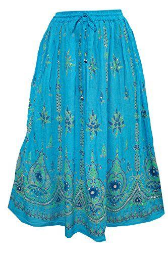 Womens Festive Skirt Blue Sequins Ankle Length Crinkle Bo... https://www.amazon.ca/dp/B01N5VR1EP/ref=cm_sw_r_pi_dp_x_wW03yb0GJ322X