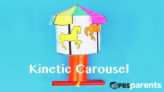 You're going to love this. Trust us. #video #carousel #craftsforkids