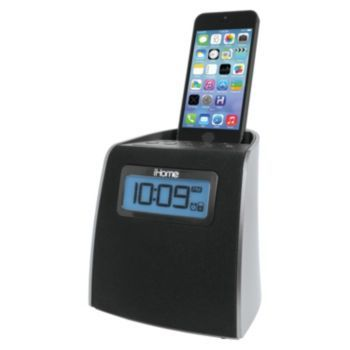 iHome Clock Radio & Lightning Charging Dock for iPhone or iPod