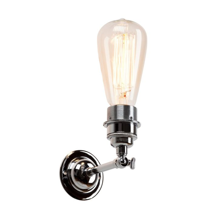 Modelled on iconic industrial lighting, the vintage profile of this wall lights lends an urban feel to a space, suiting a range of interiors from dark to bright, decorative to minimal. Providing the perfect display for a warmly lit halogen bulb, a range of colours and finishes give this classic design either an authentic look or modern interpretation.
