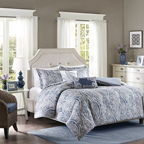 Harbor House Stella Cotton Sateen Printed Duvet Cover Set King