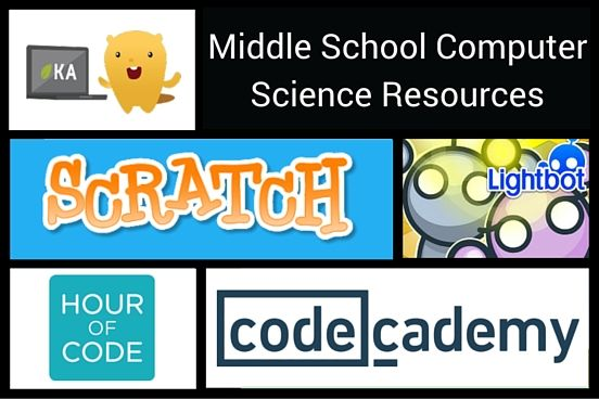 The 150 best computer applications education images on pinterest top 5 free middle school computer science resources fandeluxe Choice Image