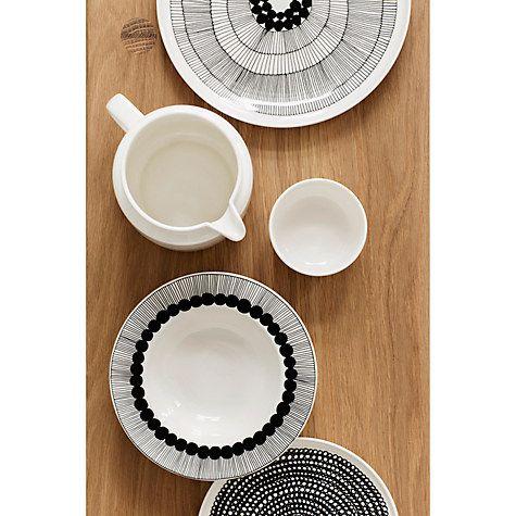 Buy Marimekko Siirtolapuutarha Plate, Dia. 25cm, Multi Online at johnlewis.com