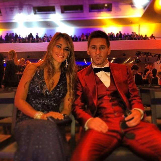 Antonella & Messi