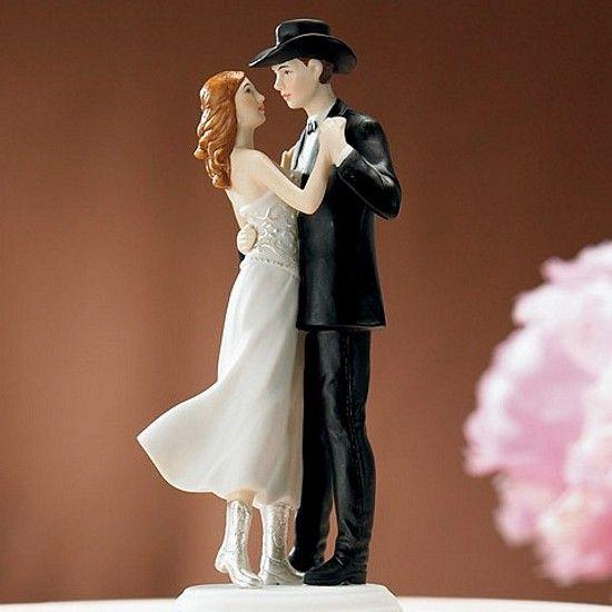 Western Wedding Couple