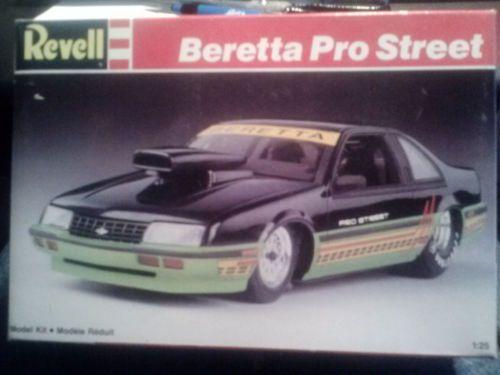 revell beretta pro street plastic model car kit scale 125 7168