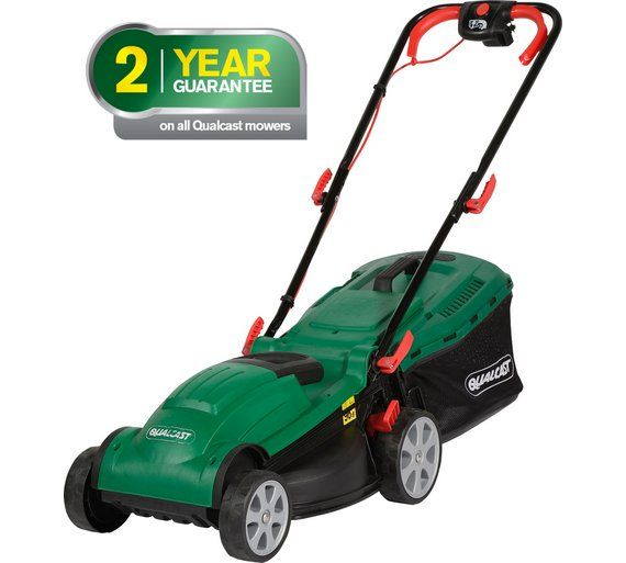 Buy Qualcast Corded Rotary Lawnmover - 1400W at Argos.co.uk, visit Argos.co.uk to shop online for Lawnmowers and accessories, Lawnmowers and garden power tools, Home and garden