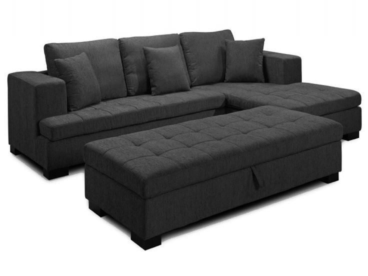 Serenity Grey Fabric Corner Sofa | Corner Sofas from FADS
