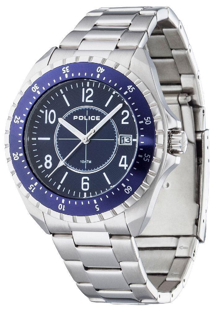 Police Uhr Herren Armbanduhr P13669JS-03M blau Navy Edelstahl silber  http://www.uhren-versand-herne.de/police-uhr-herren-armbanduhr-p13669js-03m-blau-navy-edelstahl-silber.html