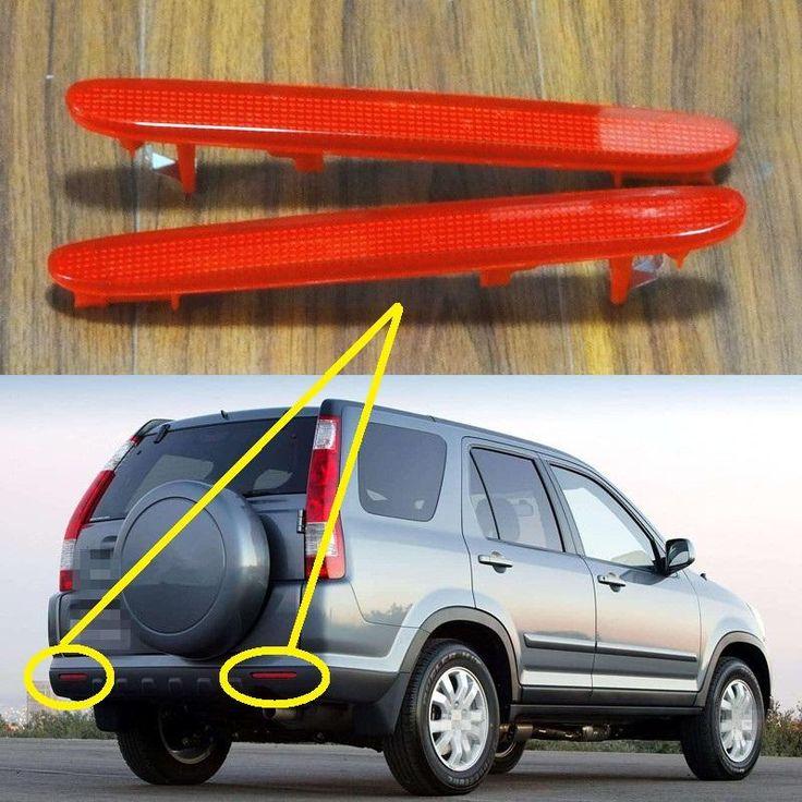 2 Defletores do para choque traseiro Honda CRV 2005-2006