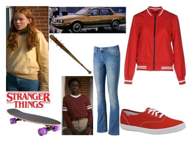 """*Mad*Max Mayfield"" by annabellewren on Polyvore featuring Jacqueline De Yong, Keds, Seven7 Jeans, Max, MadMax and StrangerThings"