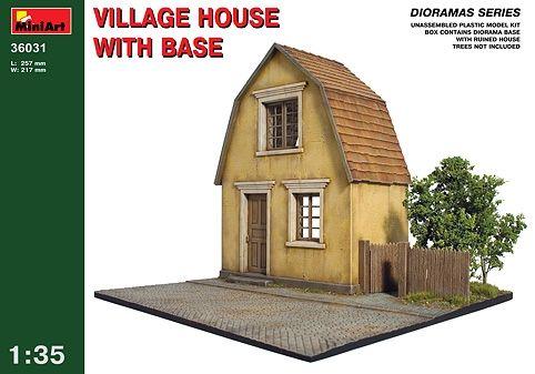 Models & Kits Toys & Hobbies Village Street Kit Miniart 1:35 Min36029 Model