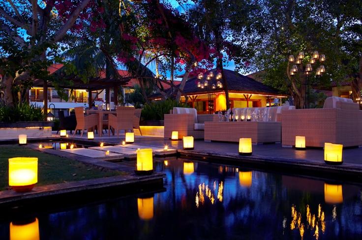 Cascade Garden Lounge & Bar at The Laguna, a Luxury Collection Resort & Spa, Nusa Dua, Bali