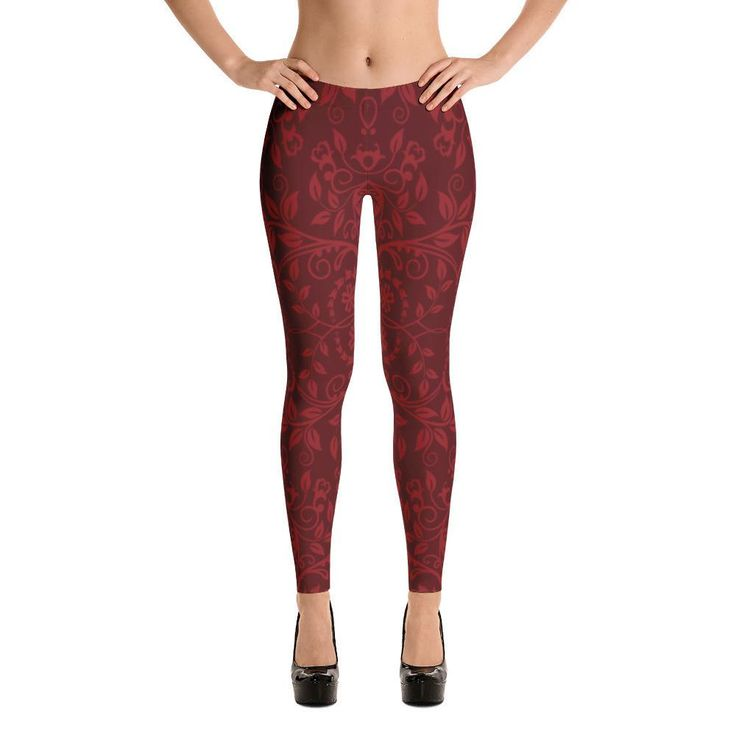 Red Scarlett Leggings