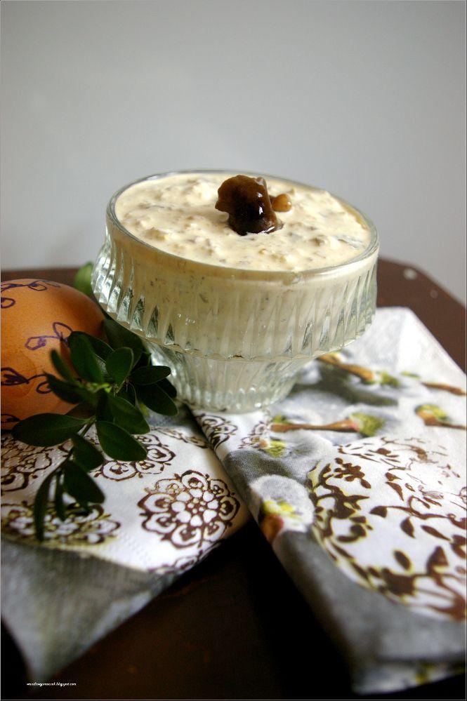 sos tatarski według Babci Zosi i inspiracje wielkanocne