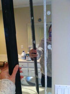 Best 25 mirror trim ideas on pinterest guest bathroom - Decorative trim for bathroom mirrors ...