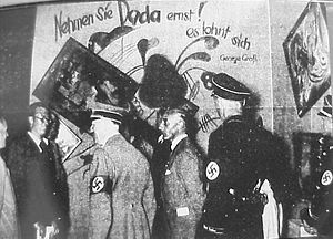 Degenerate art - Wikipedia, no freedom in Art expression during Hitler's reign