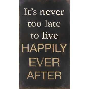 Happily Ever After Plaque